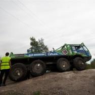 Truck trial Kladno
